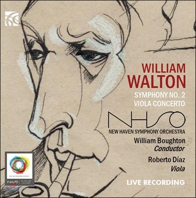 William Boughton 월튼: 교향곡 2번, 비올라 협주곡 (Walton: Symphony No. 2 & Viola Concerto)