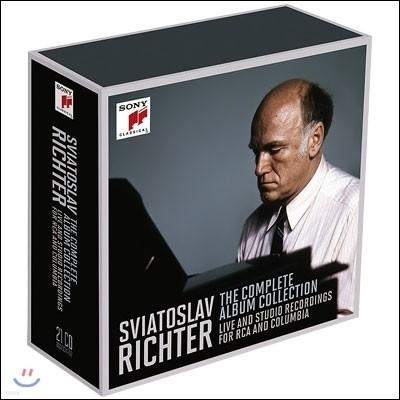 스비아토슬라프 리히터 RCA & 컬럼비아 녹음 전곡집 (Sviatoslav Richter - The Complete Album Collection)