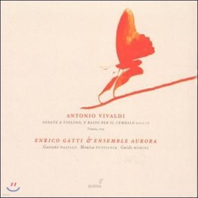 Enrico Gatti 비발디: 바이올린 소나타 (Vivaldi: Violin Sonatas (12), Op. 2) 엔리코 가티