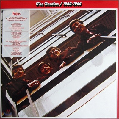 The Beatles - 1962-1966 (Red) 비틀즈 레드 [2LP]