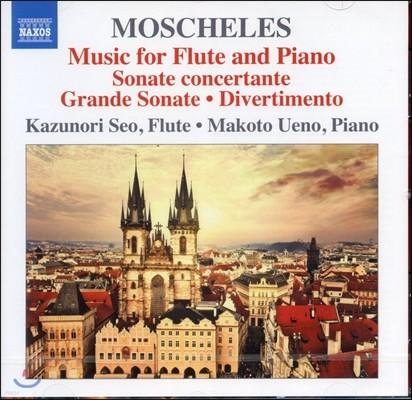 Kazunori Seo 모셸레스: 플루트소나타, 소나테 콘체르탄테, 디베르티멘토 (Moscheles: Music for Flute & Piano)