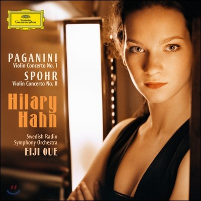 Hilary Hahn 파가니니 / 스포어: 바이올린 협주곡 (Paganini: Violin Concerto No.1 & Spohr: Violin Concerto No.8) 힐러리 한