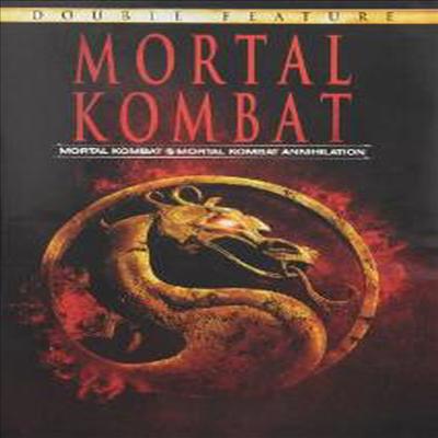 Mortal Kombat 1 & 2 (모탈 컴뱃 편 & 2편)(지역코드1)(한글무자막)(DVD)