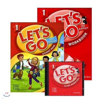 [4판] Let's Go 1 Set [SB+WB+CD]