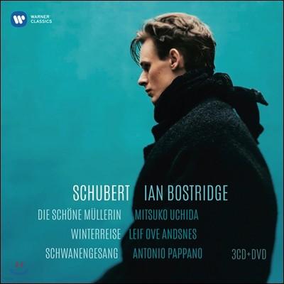 Ian Bostridge 슈베르트: 가곡집 - 겨울 나그네, 아름다운 물방앗간 아가씨, 백조의 노래 (Schubert Lieder)