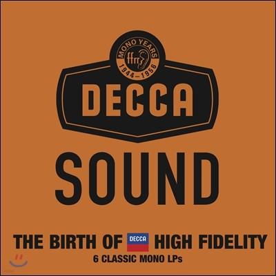 데카 사운드 3집 1944-1956 하이파이의 탄생 [LP 한정반] (The Decca Sound: the Mono Years)