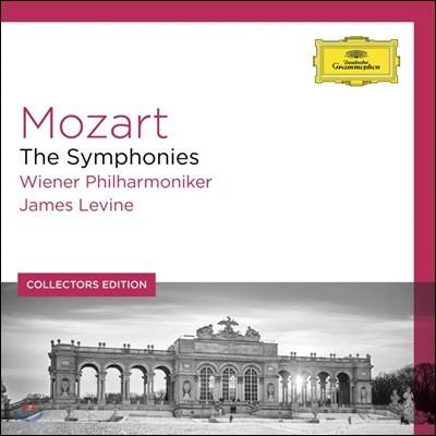 James Levine 모차르트: 교향곡 전곡집 - 제임스 레바인, 빈필 (Mozart: Symphonies)