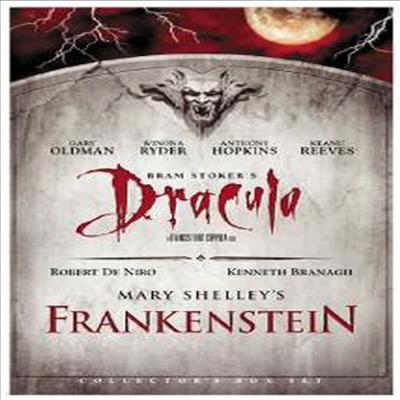 Bram Stoker's Dracula & Mary Shelly's Frankenstein (드라큘라 & 프랑켄슈타인)(지역코드1)(한글무자막)(DVD)