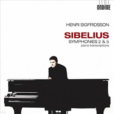 시벨리우스 : 교향곡 2, 5번 (피아노 독주 버전, 세계 최초 녹음) (Sibelius : Symphonies Nos. 2 & 5, transcribed for solo piano) - Henri Sigfridsson