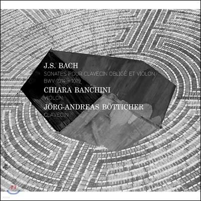 Chiara Banchini 바흐: 바이올린과 하프시코드를 위한 소나타 BWV 1014~1019 (Bach: Sonatas for Obbligato Harpsichord and Violin )