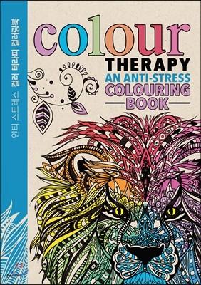 [중고] 컬러 테라피 컬러링북 Colour Therapy Colouring Book