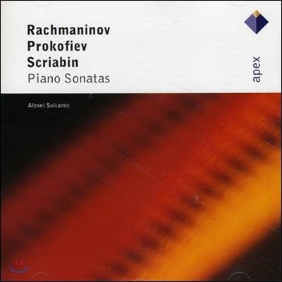 Alexei Sultanov 라흐마니노프 / 프로코피에프 / 스크리아빈: 피아노 소나타 (Rachmaninov / Prokofiev / Scriabin: Piano Sonatas)