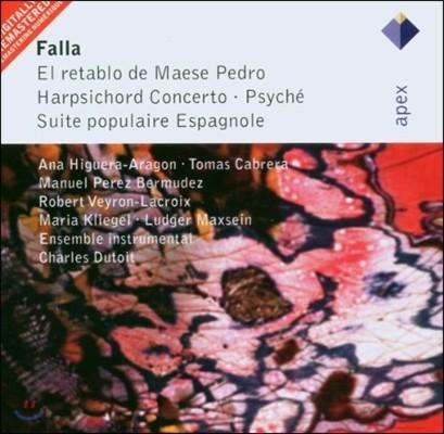 Charles Dutoit 파야: 페드로 주인의 인형극, 쳄발로 협주곡 (Falla: El retablo de Maese Pedro, Harpsichord Concerto)