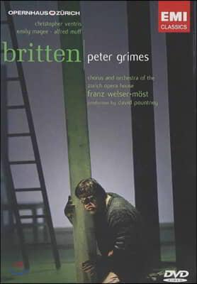 Franz Welser-Moest 브리튼: 피터 그라임스 (Britten: Peter Grimes) [2DVD]
