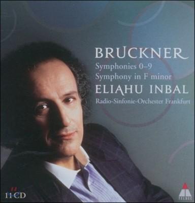 Eliahu Inbal 브루크너: 교향곡 전집 (Bruckner: Symphonies Nos. 0-9, Symphony in F minor)