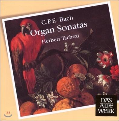 Herbert Tachezi 카를 필리프 에마누엘 바흐: 오르간 소나타 모음집 (C.P.E. Bach: Organ Sonatas)