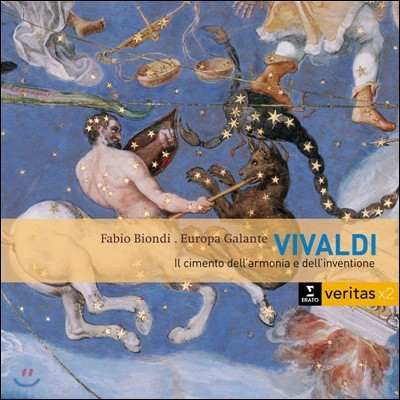 Fabio Biondi 비발디: '화성과 창의의 시도' - 사계 외 (Vivaldi: Il Cimento dell'Armonia e dell'Inventione - The Four Seasons)