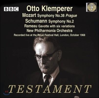 Otto Klemperer 모차르트: 교향곡 38번 '프라하' / 슈만: 교향곡 2번 (Mozart: Symphony No.38 'Prague' / Schumann: Symphony No.2)