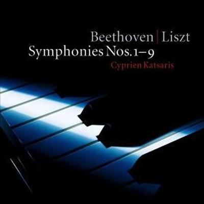 Cyprien Katsaris 베토벤: 교향곡 전곡 [리스트 피아노 편곡] (Liszt: Beethoven Symphonies 1-9)