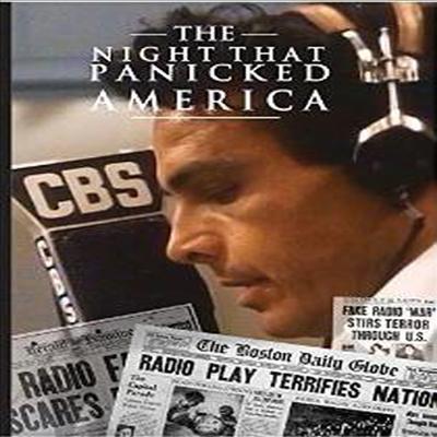 Night That Panicked America (우주 전쟁)(지역코드1)(한글무자막)(DVD)