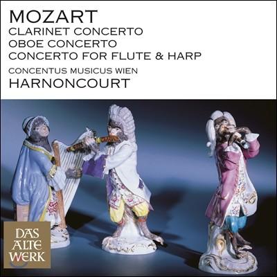 Nikolaus Harnoncourt 모차르트: 클라리넷 협주곡, 오보에 협주곡, 플룻과 하프 협주곡 (Mozart: Wind Concertos)