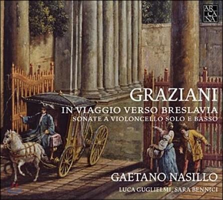 Gaetano Nasillo 그라지아니: 첼로 소나타 (Graziani: Cello Sonatas)