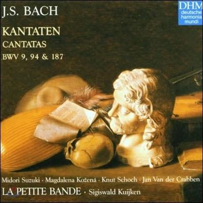 Sigiswald Kujiken 바흐: 칸타타 (Bach: Cantatas BWV 9, 94, 187)