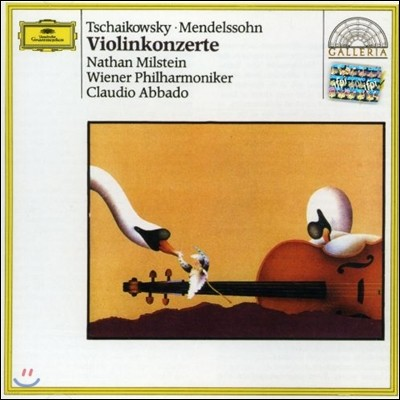 Nathan Milstein / Claudio Abbado 차이코프스키 / 멘델스존: 바이올린 협주곡 (Tchaikovsky / Mendelssohn: Violin Concerto)