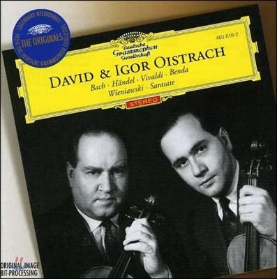 David & Igor Oistrakh 바흐 / 헨델 / 비발디: 바이올린 작품집 (Bach / Haendel / Vivaldi: Violin Works)