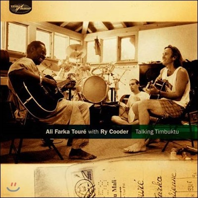Ali Farka Toure With Ry Cooder - Talking Timbuktu 알리 파르카 투레 + 라이 쿠더 [2 LP]
