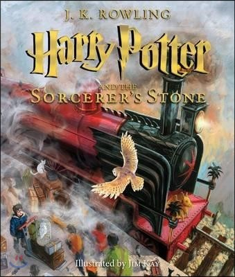 Harry Potter and the Sorcerer's Stone : Illustrated Edition (미국판)