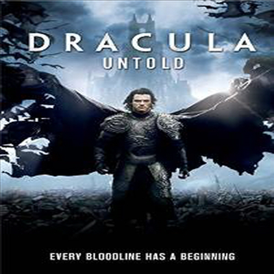Dracula Untold (드라큘라: 전설의 시작)(지역코드1)(한글무자막)(DVD)