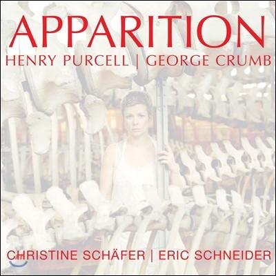 Christine Schafer 망령 - 퍼셀: 잠시 동안의 음악 / 크럼: 3개의 초기 노래 (Apparition - Purcell: Music for a While / Crumb: Three Early Songs)