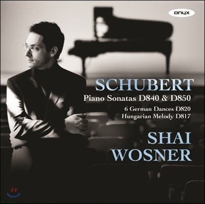 Shai Wosner 슈베르트: 피아노 소나타 15번, 17번 (Schubert : Piano Sonatas D 840 & D 850)