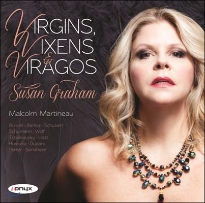 Susan Graham 여성의 노래 (Virgins, Vixens, Viragos)