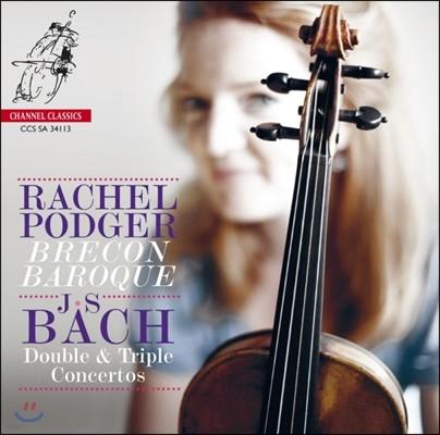Rachel Podger 바흐: 이중, 삼중 협주곡집 (Bach: Double & Triple Concertos) 레이첼 포저