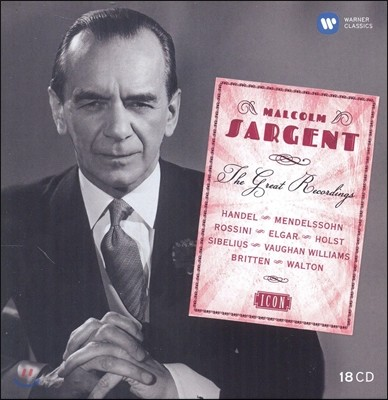 Malcolm Sargent ICON - 말콤 사전트 명연주집 (The Great Recordings)