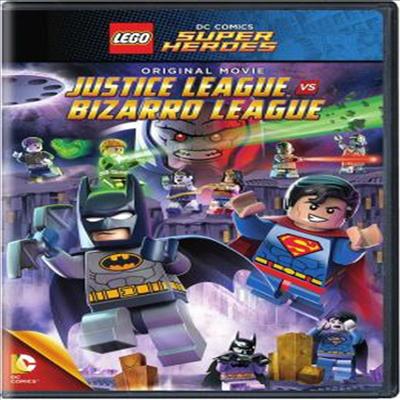 LEGO: DC Comics Super Heroes: Justice League vs. Bizarro League (레고 : DC 코믹스 슈퍼 히어로즈 : 저스티스 리그 VS 비자로 리그)(지역코드1)(한글무자막)(DVD)