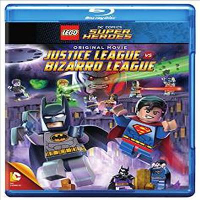 LEGO: DC Comics Super Heroes: Justice League vs. Bizarro League (레고 : DC 코믹스 슈퍼 히어로즈 : 저스티스 리그 VS 비자로 리그) (한글무자막)(Blu-ray)