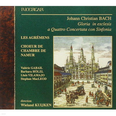 Wieland Kuijken J.C. 바흐: 글로리아 (J.C.Bach: Gloria in Exclesis)