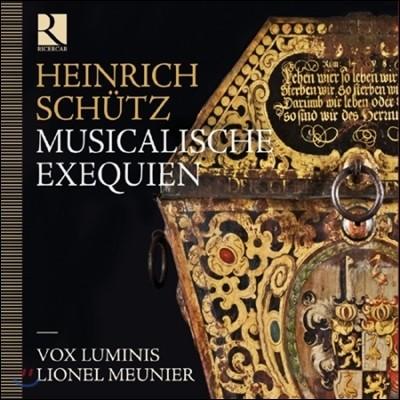Vox Luminis 하인리히 쉬츠: 장송음악 (Schutz: Musicalische Exequien)