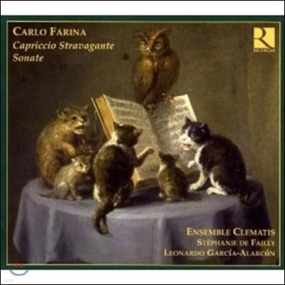 Clematis 카를로 파리나: 카프리치오 스트라바간테, 소나타 (Farina: Capriccio Stravagante, Sonatas)
