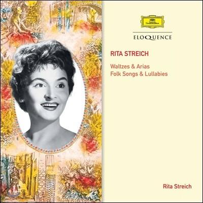Rita Streich 리타 스트라히의 왈츠와 아리아, 민요와 자장가 (Waltzes & Arias, Folk Songs & Lullabies)
