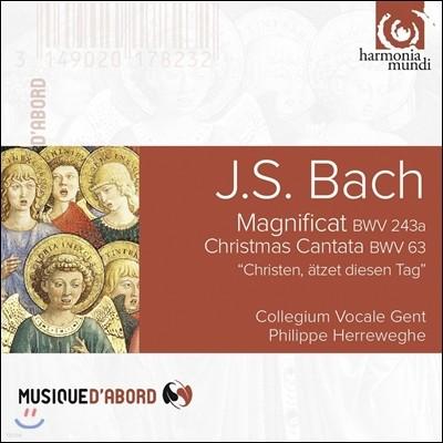 Philippe Herreweghe 바흐: 마그니피카트, 크리스마스 칸타타 (Bach: Magnificat BWV243a, Christmas Cantata BWV63)