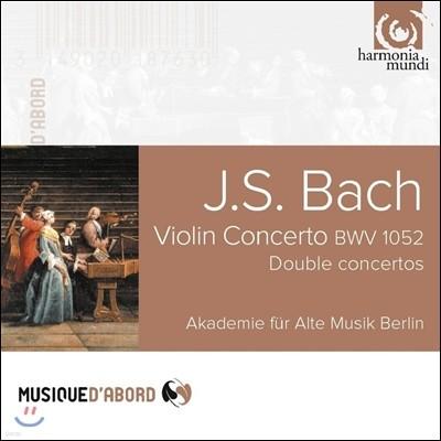 Akademie Fur Alte Musik Berlin 바흐: 바이올린 협주곡, 이중 협주곡 (Bach: Violin Concerto BWV1052, Double Concertos)