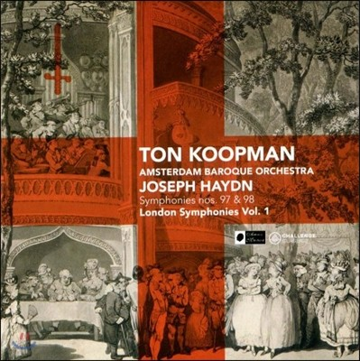 Ton Koopman 하이든: 런던 교향곡집 1 (Haydn: London Symphonies Vol.1 - Nos.97, 98)