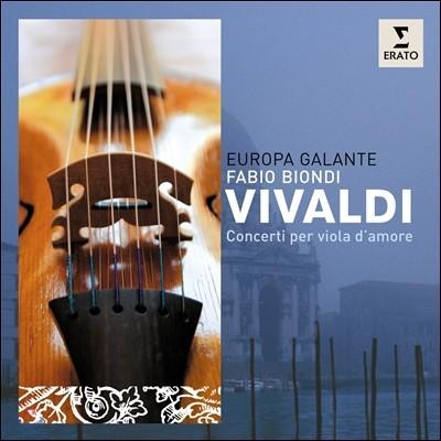 Fabio Biondi 비발디: 비올라 다모레 협주곡 (Vivaldi: Concerti per Viola d'Amore)