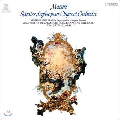 Jean-Francois Paillard 모차르트: 오르간과 오케스트라를 위한 교회 소나타 (Mozart: Sonates d'Eglise pour Orgue et Orchestre)