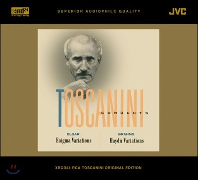 Arturo Toscanini 엘가: 수수께끼 변주곡 / 브람스: 하이든 주제에 의한 변주곡 (Elgar: Enigma Variations / Brahms: Variations on a Theme by Haydn)