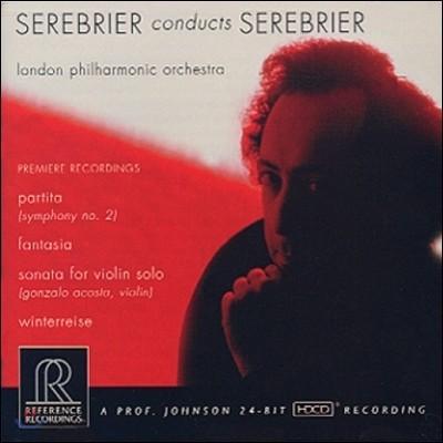 Jose Serebrier 호세 세레브리에르: 파르티타, 현을 위한 환상곡 (Serebrier: Partita, Fantasia for Strings)